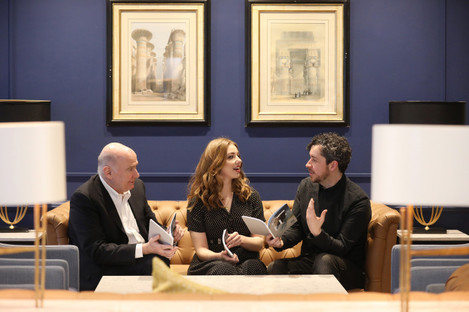 Screen Ireland chief executive James Hickey, actress Seana Kerslake, and The Hole in the Ground director Lee Cronin