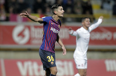 Barcelona in Copa del Rey trouble over 'ineligible player' complaint