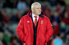 Gatland holds 'a couple of informal conversations' over coaching Lions in 2021