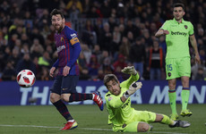 Dembele and Messi on target as Barca overturn first-leg deficit