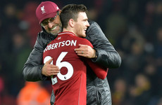 'Everything about him screams Liverpool': Klopp delighted with Robertson contract