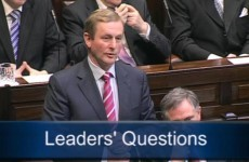"""I don't believe you believe in your own campaign,"" Taoiseach tells Adams"