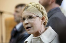 Ex-Ukraine PM moved to hospital after two week hunger strike