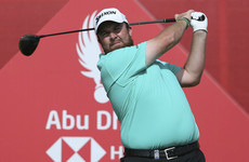 Shane Lowry leads in Abu Dhabi after scorching third-round 67
