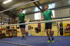 The shed out the back where the McKenna brothers' boxing dream began