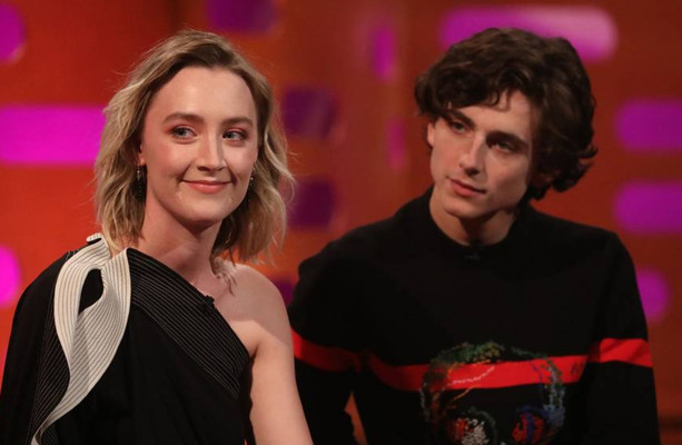 Saoirse Ronan got caught giving out about people in Irish while filming Mary Queen of Scots
