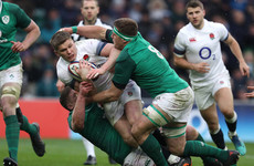England captain Farrell emerges as a doubt for massive Ireland clash