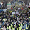 French yellow vests hit back at Macron's debate attempts with 10th weekend of protests