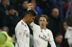 Casemiro wonder goal helps Madrid defeat Sevilla
