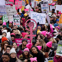 Thousands take to streets of US for Women's March amid government shutdown