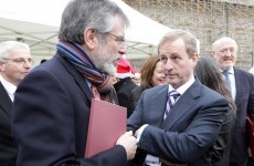 Adams 'ready and willing' to debate Enda Kenny over referendum