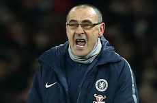 'Maybe they shouldn't be playing at this level' - Sarri eviscerates 'mentally weak' Chelsea players