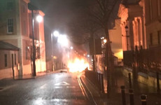 Police investigation underway after suspected car bomb in Derry city centre