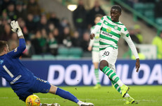 Weah scores on debut as Celtic march on in Scottish Cup