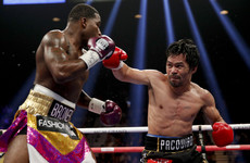 'I really don't believe my career is over' - Pacquiao batters Broner in lopsided welterweight bout