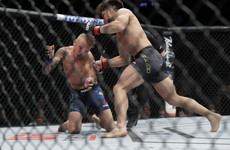 Stunning first-round knockout win for Cejudo against Dillashaw to retain flyweight title