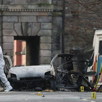 CCTV footage of Derry city centre car bomb released as two men (20s) arrested