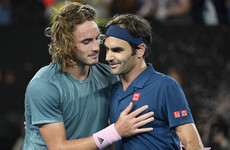 20-year-old Tsitsipas knocks defending champion Federer out of Australian Open