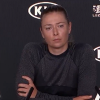 Maria Sharapova refuses to answer reporters' questions after Melbourne exit