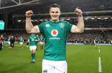 Sexton back running as Ireland set off for Portugal training camp