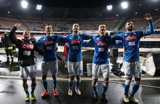 Callejon and Milik on target as Ancelotti's Napoli keep pressure on Juventus