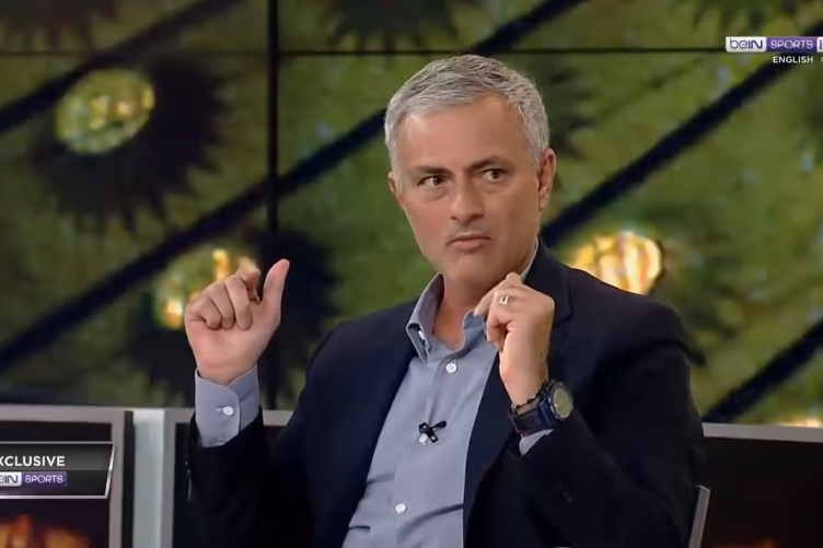 Jose Mourinho appeared as a pundit on Bein Sports' coverage over the weekend, alongside Richard Keys and Andy Gray.