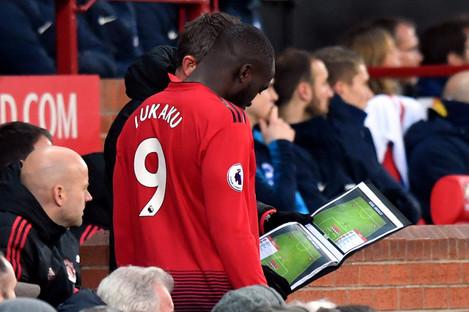 Romelu Lukaku has yet to start a league game under Ole Gunnar Solskjaer.