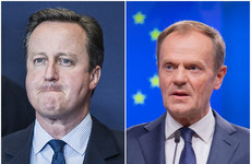 Donald Tusk says he told David Cameron that promising an EU referendum was 'stupid'