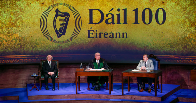 As it happened: President, TDs and Senators reflect on 100 years of Irish democracy