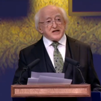 President Higgins warns of the return of 'an ugly, xenophobic corruption of nationalism'