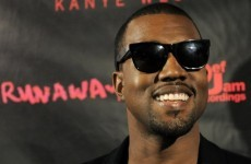 Kanye West performs hit track live... on a plane
