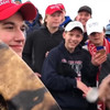 Trump says students accused of mocking Native American 'unfairly treated'
