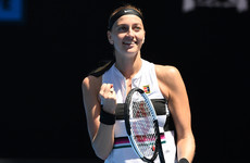 Tearful Kvitova downs Barty to make Australian Open semis