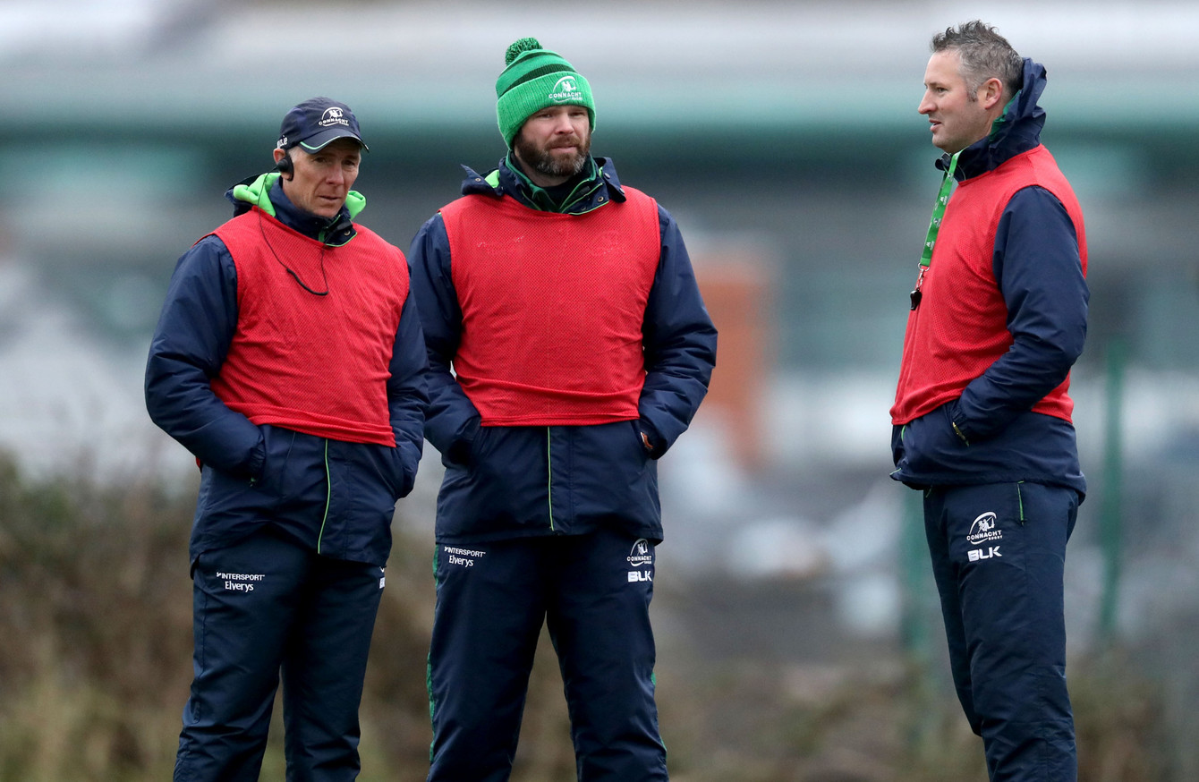 Connacht coaching ticket extend contracts to remain at Sportsground until  2021 1e923ad03b