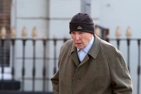 File photo of retired surgeon Michael Shine arriving at the Central Criminal Courts in Dublin.