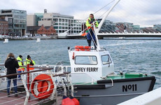 Watch the refurbished No 11 Liffey Ferry motor back into action after 35 years