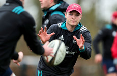 Bleyendaal itching for action with Munster