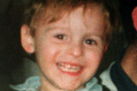 Two-year-old James Bulger.
