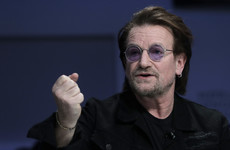 Bono tells business leaders at Davos: 'Capitalism is not immoral - it's amoral'