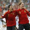 29 days to Euro 2012: David Villa and Spain hit Russia for four