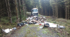13 tonnes of waste dumped over Wicklow and Dublin mountains after Christmas