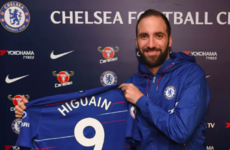 Higuain Premier League-bound as Chelsea confirm loan deal for Argentinian striker