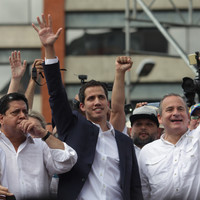 Venezuela's opposition leader declares himself president amid anti-Maduro clashes