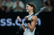 Kvitova makes first Grand Slam final since knife attack