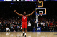 Madison Square Harden: Rockets star shoots incredible 61 points in New York