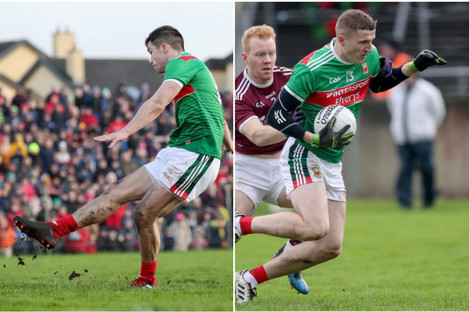 Brian Reape and Conor Diskin have both been handed league debuts for Saturday's game.