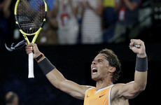 Ruthless Nadal routs Tsitsipas to reach Australian Open final
