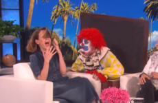 Just every single time Ellen scared the wits out of Sarah Paulson