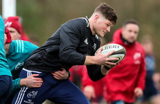 Munster set for timely back row boost as O'Donoghue nears injury return