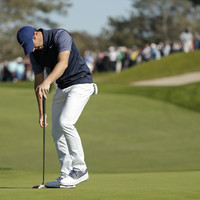 Rory McIlroy struggles in San Diego as Rahm takes control at Farmers Insurance Open